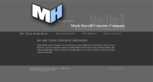 Mark Harvill Concrete Company
