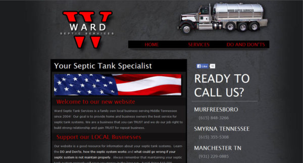 Ward Septic Services